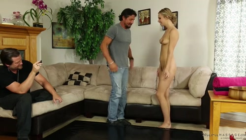 Куколд хочет, чтобы жена-массажистка изменила ему с высоким клиентом