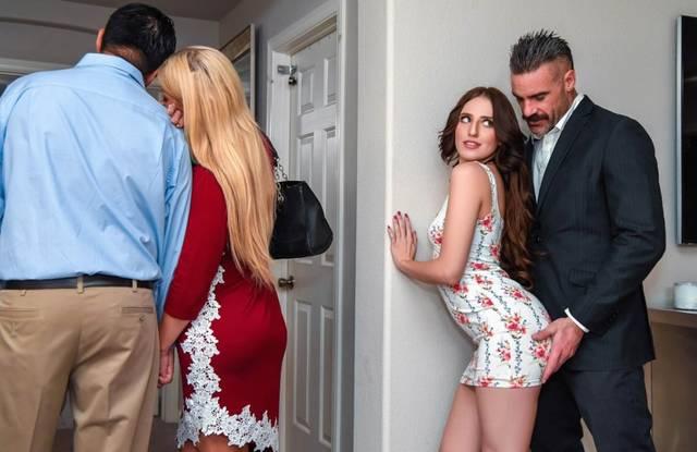 Муж изменил жене с привлекательной соседкой