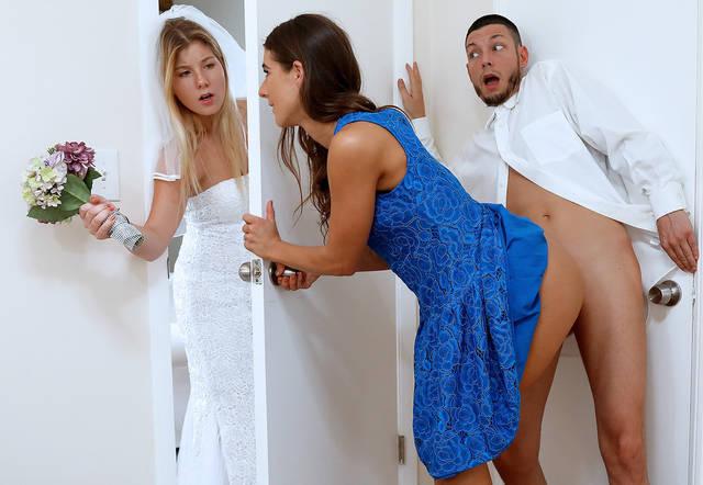 Жених трахнул сестру за пару часов до свадьбы